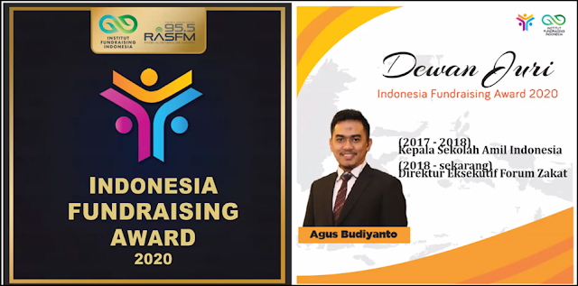 Agus Budiyanto Juri Indonesia Fundraising Awards 2020
