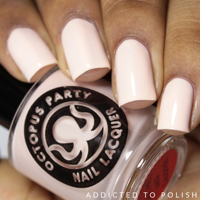Octopus Party Nail Lacquer You Me and Daiquiri Creme a la Mode summer 2016
