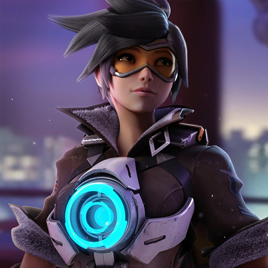 Tracer Overwatch Wallpaper Engine