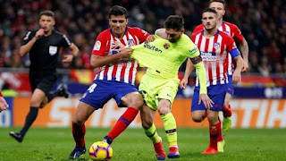 يلا كورة اخبار الدوري الاسباني مباراة برشلونة واتليتكو مدريد