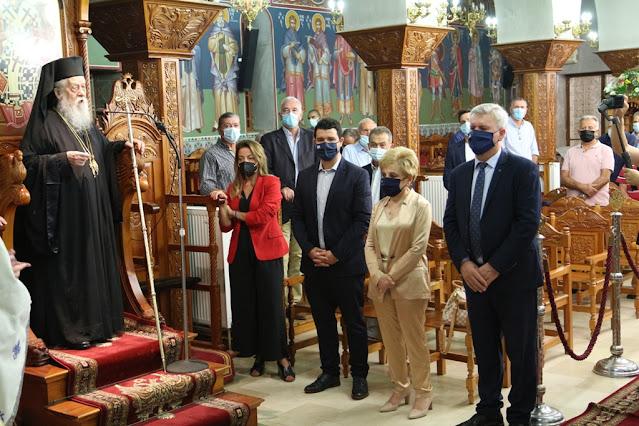 Από τον εορτασμό της ανακομιδής των ιερών λειψάνων του Αγίου Δονάτου