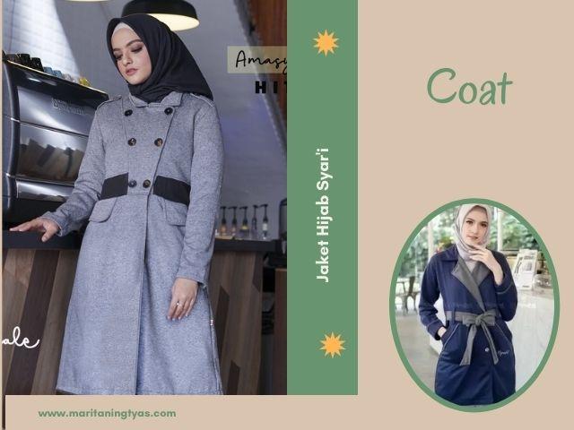jaket muslimah coat