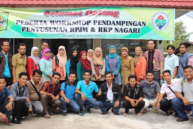 BPMPKB Gelar Workshop Pendampingan Penyusunan RPJM dan RKP Nagari Tahun 2016