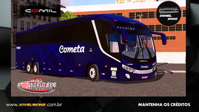 COMIL 1200 6X2 - VIAÇÃO COMETA
