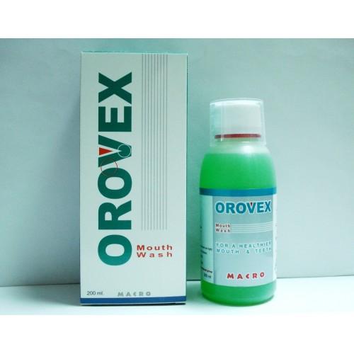 سعر ودواعي استعمال غسول أوروفيكس orovex لتنظيف الفم