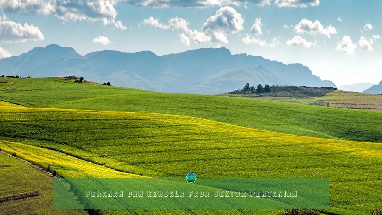 Peranan dan Kendala Pada Sektor Pertanian