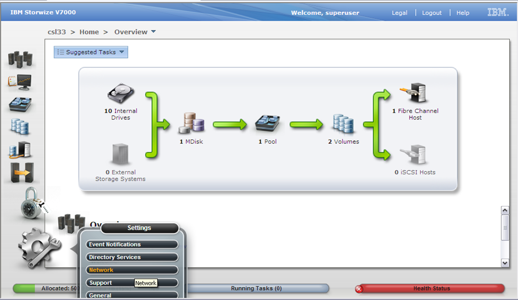 How To Configure and Manage IBM v7000 Storage - TECHSUPPORT