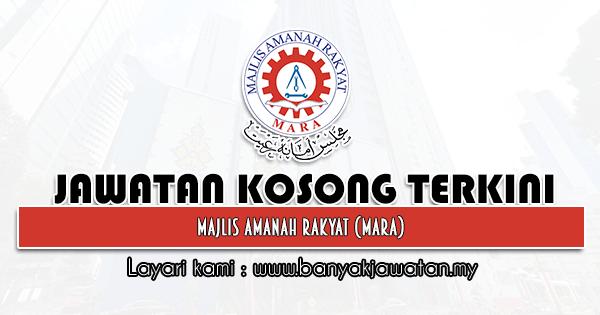 Jawatan Kosong 2021 di Majlis Amanah Rakyat (MARA)
