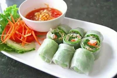 ประเทศเวียดนาม ปอเปียะเวียดนาม (Vietnamese Spring Rolls)