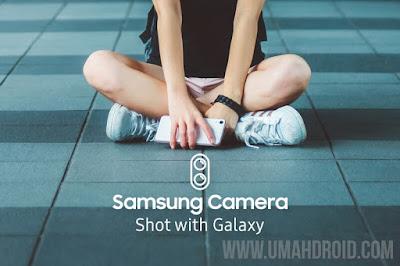 Menampilkan Merek HP di Hasil Foto Samsung
