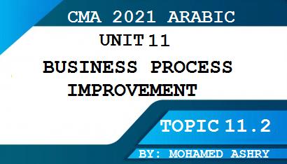 استكمالا لشرح cma بالعربي : هذا الموضوع يتحدث عن أداوت تحسين العمليات الإنتاجية مرحلة عنق الزجاجة نظام كايزن Kaizen   إعادة الهيكلة BPR  مقارنة الآداء