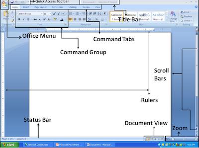 Meri Duniya : Easy notes on MS-WORD 2007 in English