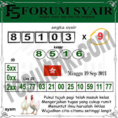Forum syair hk Minggu 19 September 2021