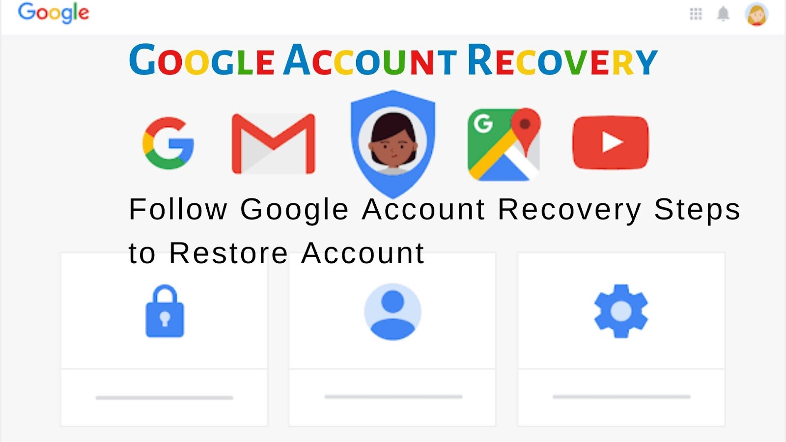 Forgot-Google-account-credentials What are the Common Steps For Google Account Recovery Process