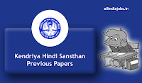 Kendriya Hindi Sansthan Peon Previous Papers