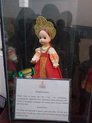 boneka di museum wayang