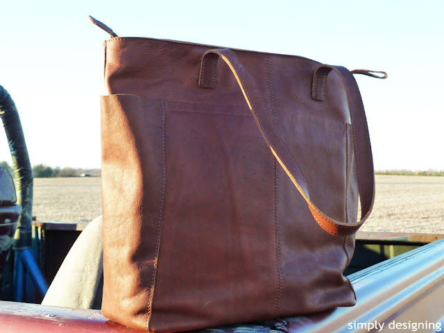 leather+tote+womens What-To-Wear While DIY-ing 20
