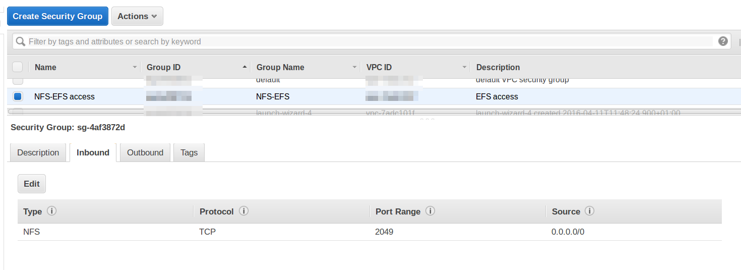 Amazon EFS - sharing files painlessly ~ not only about PHP
