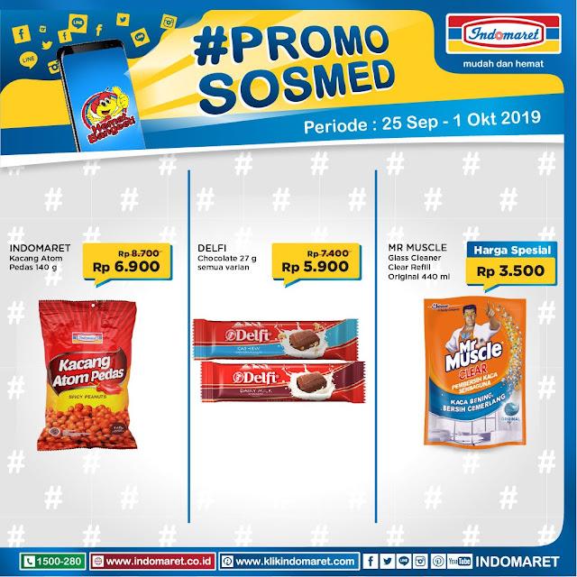 #Indomaret - #Promo SOSMED Periode 25 Sept - 01 Okt 2019