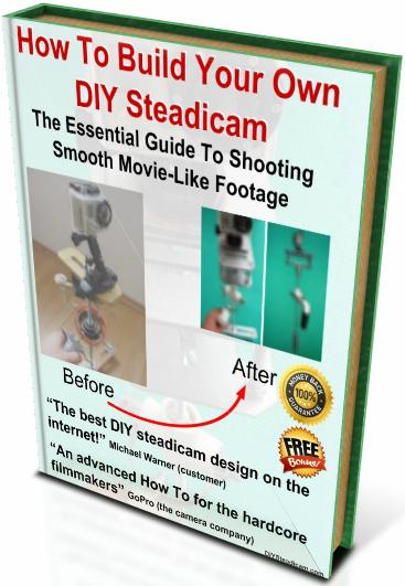 DIY Steadicam - GoPro Steadicam - DSRL Stabilizer