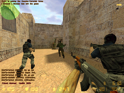 Jogo Counter-Strike Web Browser