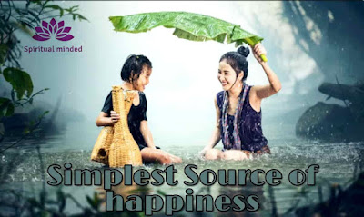 Simplest Source of Happiness