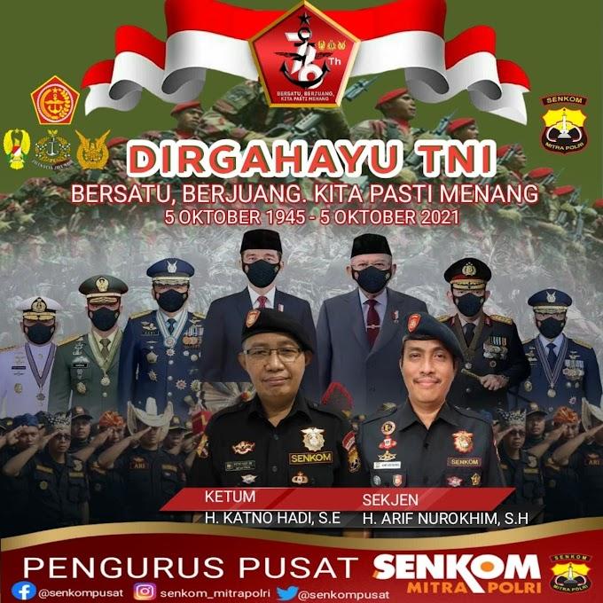 DIRGAHAYU TENTARA NASIONAL INDONESIA.