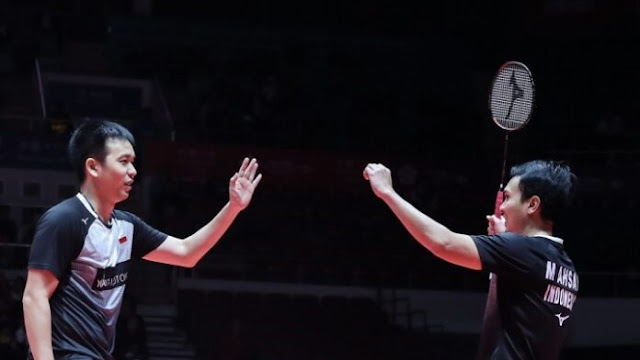 Ahsan/Hendra Jumpa Lee Yang/Wang Chi-Lin di Final BWF World Tour Final
