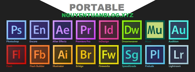 Share bộ Adobe CC 2019 Bản Portable ( chạy ngay không cần cài đặt )