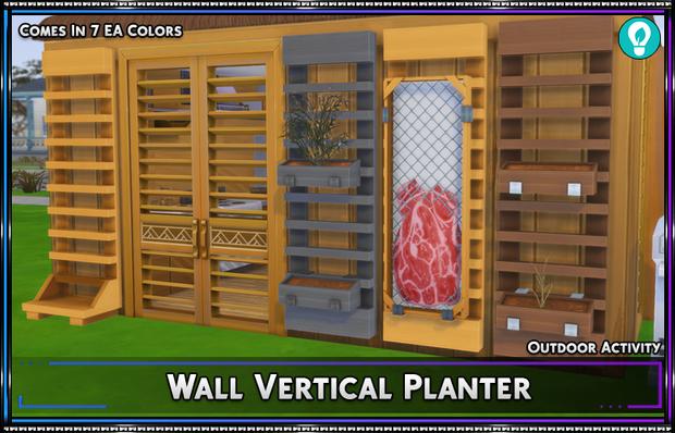 Wall Vertical Planter