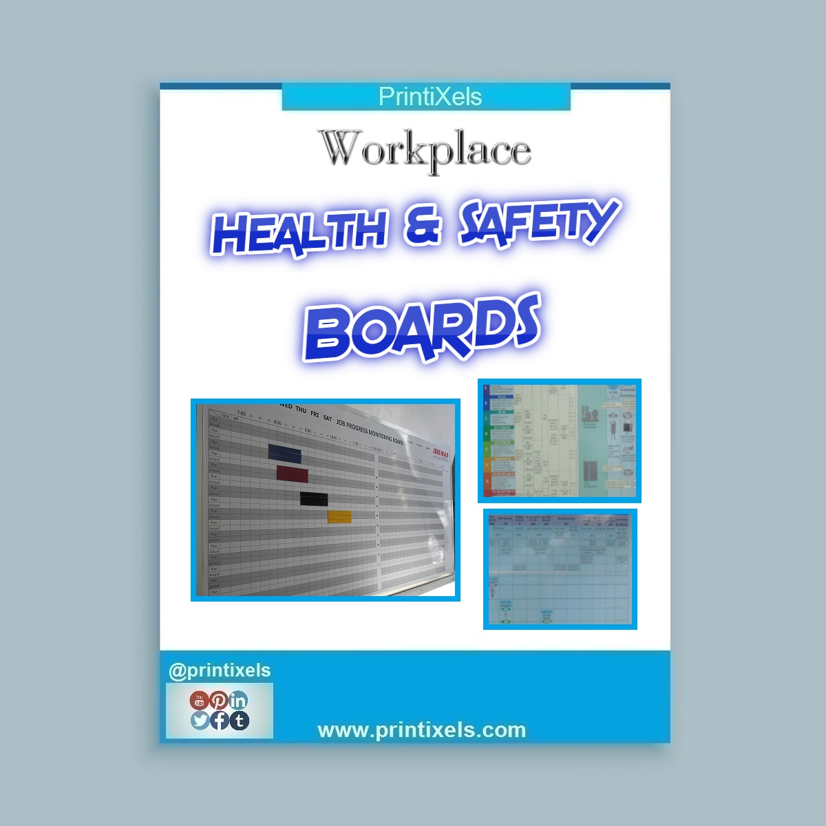 Custom Workplace Health & Safety Boards Philippines