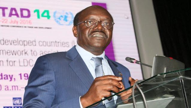 Presidential aspirant Dr Mukhisa Kituyi photo