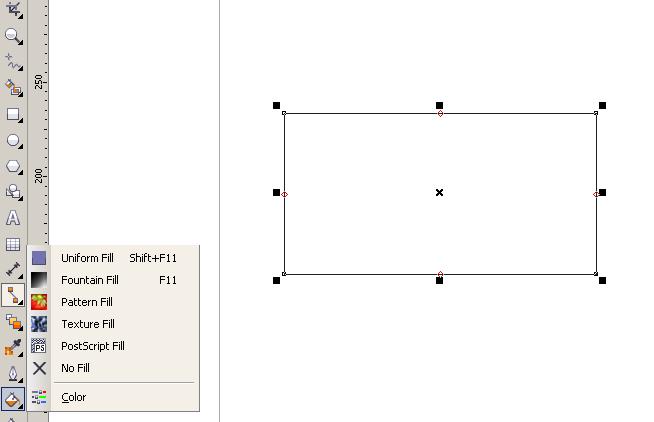 Cara Membuat Gradasi Warna Di Corel Draw Corel X5 Sharing Info