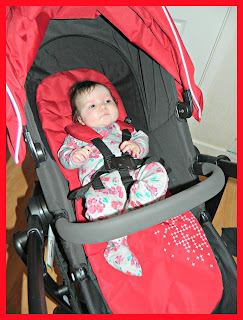 Baby Girl Graco Evo Stroller Chili