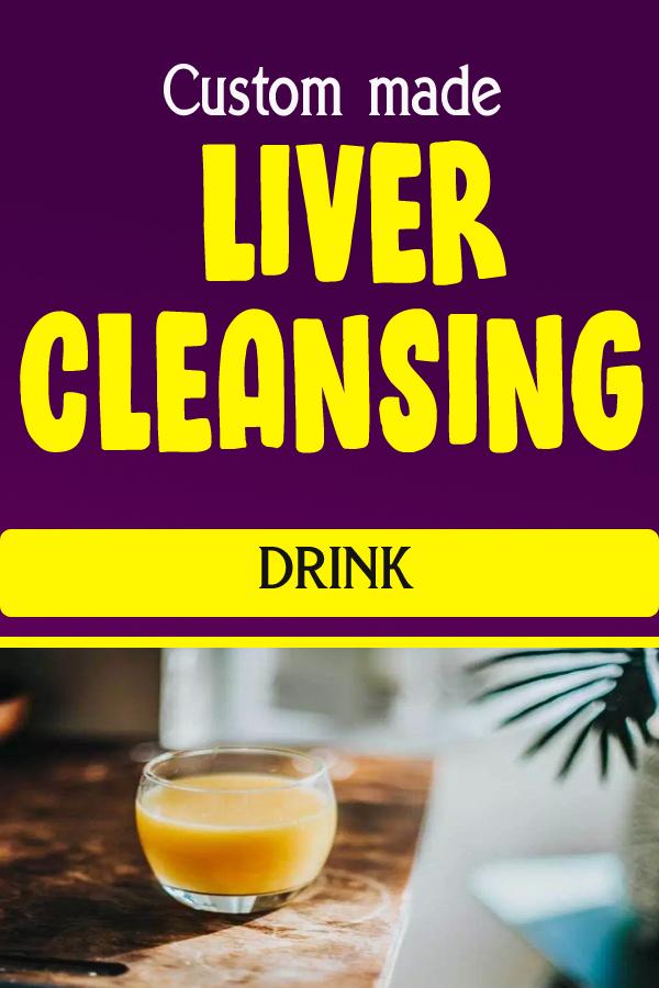 Custom made LIVER CLEANSING DRINK