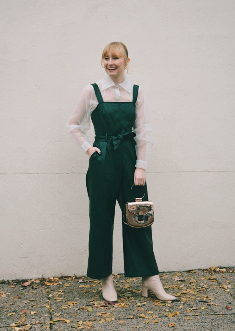 Holiday Party Jumpsuit | Organized Mess