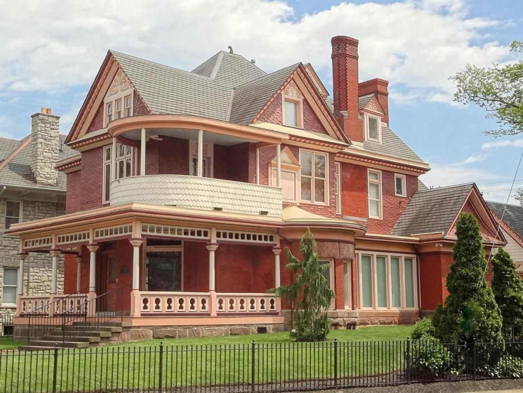 1888 Queen Anne Victorian In Columbus Ohio
