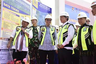 Gubernur Groundbreaking Pembangunan Bendungan Meninting
