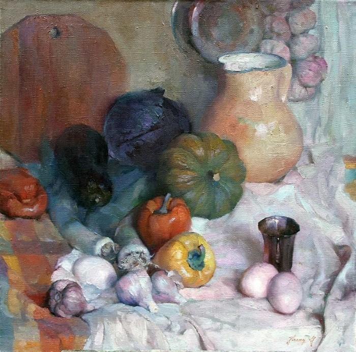 Китайский художник. Hongnian Zhang