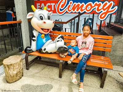 Icon sapi di  Cimory On The Valley Semarang