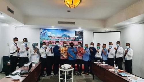 Ketua PD Perpamsi Sumbar Buka Diklat Pembekalan Manajemen Perusahaan Air Minum Tingkat Madya Angkatan I Tahun 2021