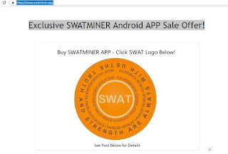 Exclusive SWATMINER Android APP Sale Offer!