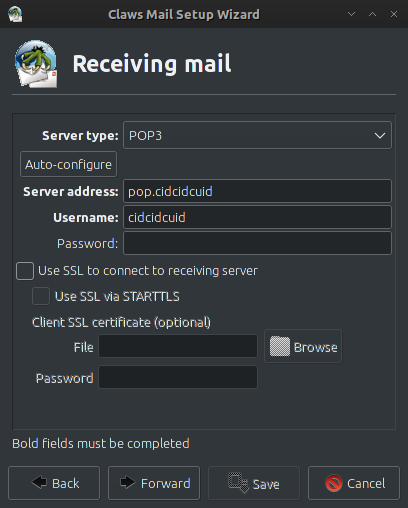 Claws Mail - Lightweight email client for archlinux