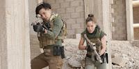 Alin Sumarwata and Roxanne McKee in Strike Back Season 5