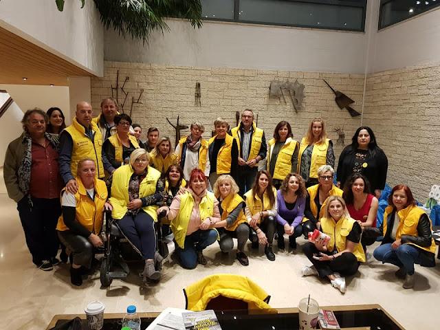 """Γιάνννενα: """"Το ευχαριστώ"""" απο τους εθελοντές Paguristas- Σημαντική η ενίσχυση των Γηροκομείων"""