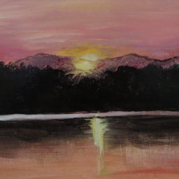 Grundy Lake Sunset