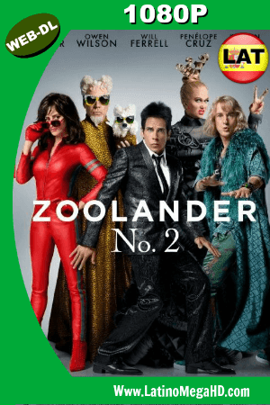 Zoolander 2 (2016) Latino HD WEB-DL 1080P ()