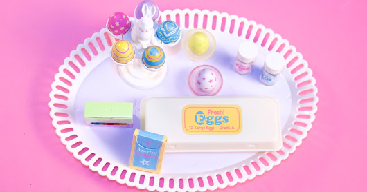 American Girl Egg Decorating Set