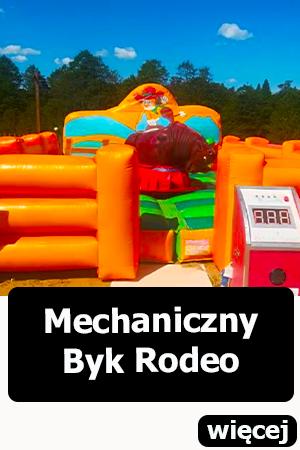 Mechaniczny byk rodeo dmuchańce wrocław