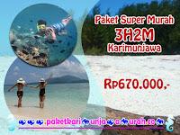 Harga Paket Wisata 3H2M Hanya 670 Rb